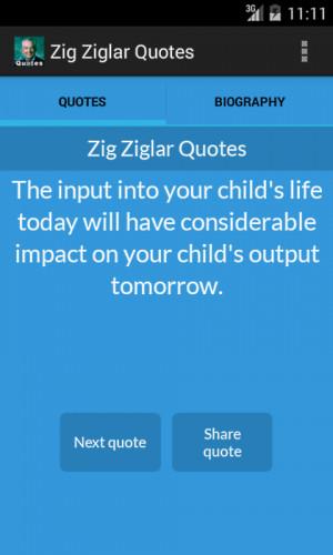 Zig Ziglar Quotes - screenshot