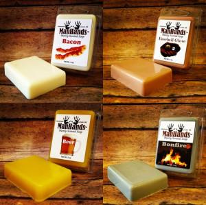 ManHands Soaps Make Men Smell Like Bacon, Beer, Soil or Urinal Cake ...