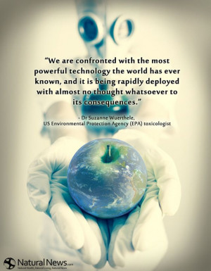 We are confronted with the most powerful technology the world has ever ...