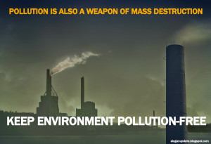 Air Pollution Slogans Sayings