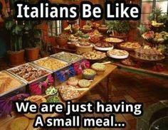 ... we say, we love to eat! #Italian #Italiancooking #pasta #pizza #funny