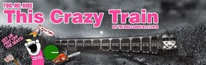 Quote About the Crazy Train