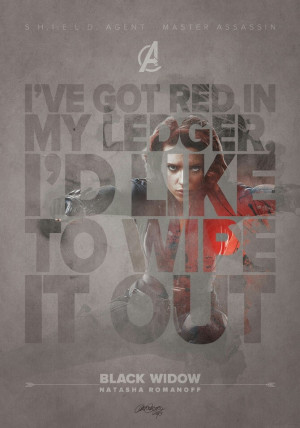 Black Widow quote