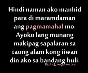 Filipino Love Quotes Tagalog