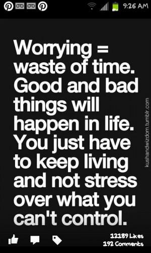 keep telling myself this
