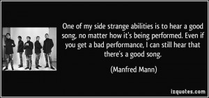More Manfred Mann Quotes