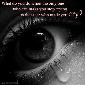 Sad Quote: What do you do when the only... 3