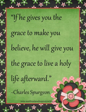 Quote to Inspire You} Charles Spurgeon