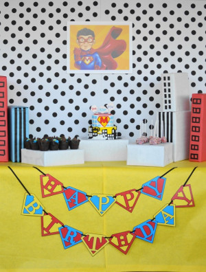 ... Lego Inspired Birthday Party Boy's Super Hero Party Comes To Life