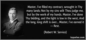 More Robert W. Service Quotes