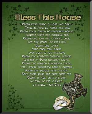 irish blessings and sayings | Irish Blessing Graphic Wall Plaque ...