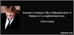 Quotes by Chris Farley