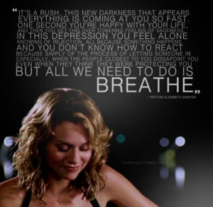 One Tree Hill Peyton Sawyer