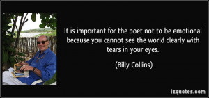 More Billy Collins Quotes