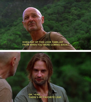 Lost Sawyer Funny Quotes