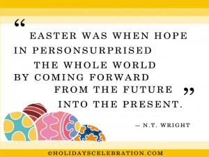 Easter is the demonstration of God that life is essentially spiritual ...