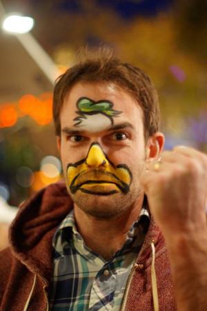 Duck Face Paint