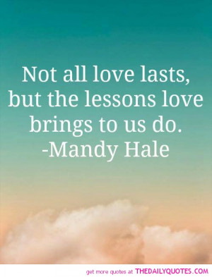 Love Lessons Quotes Remember