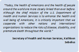 Beyond our borders: Why the US Department of Health and Human Services ...