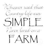 Farm life ♥