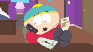 South Park Cartman (Ginger cow)