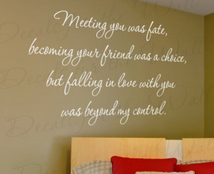 Beyond My Control - Love Bedroom Family Wedding Marriage - Quote ...