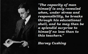 Harvey cushing famous quotes 3