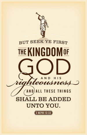 Kingdom of God....