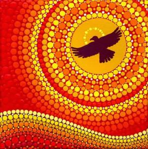 Elspeth McLean , Sun Illuminating Eagle Spirit Medicine )