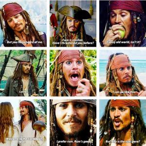 Captain Jack Sparrow, remember that time I met him...? :)))