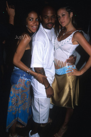 Aaliyah With Damon Son Photo