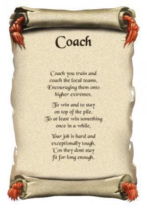 Coach Thank You Greeting...