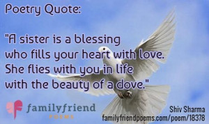 Love Sister Quotes And Poems