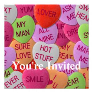 Sweet Sayings Invitations