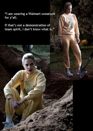 Halloween Costume 2013. True Blood's Pam De Beaufort and her Wal-Mart ...