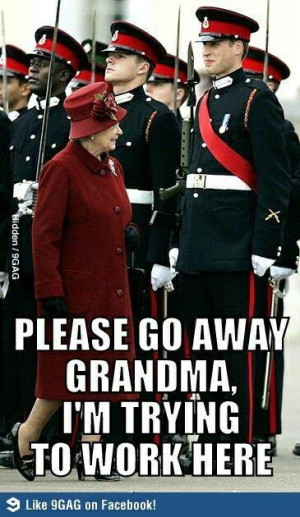 Lol . Prince William's quote