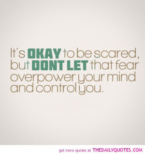 Scared Quotes About Life Life quotes · motivational