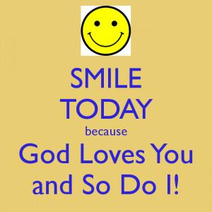 god loves you and so do i