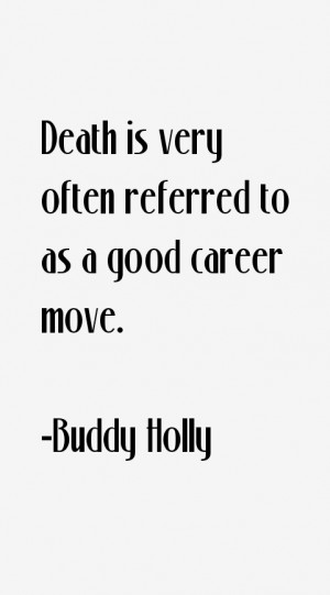Buddy Holly Quotes & Sayings