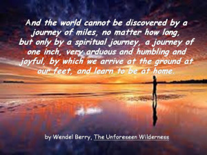 Spiritual Journey Quotes By a spiritual journey,