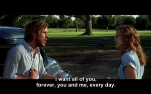 love, notebook, quote, quotes, the notebook