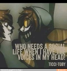 ... epic friends ticci ticci toby creepypastas 3 creepypasta quotes
