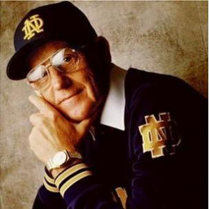 Former Notre Dame coach Lou Holtz thinks Notre Dame will play in BCS ...
