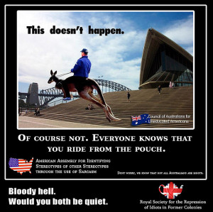 Stereotypes about Australia