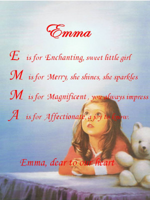 Acrostic Name Poems For Boys Girls Names