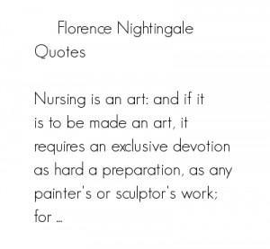 Florence Nightingale Quotes Quotesgram