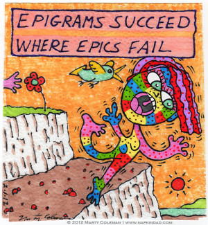 Epigrams quote #1