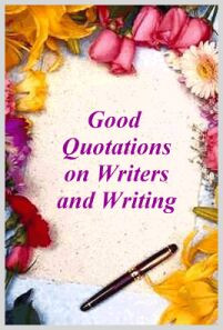 Good Quotations on Writers... Graphic]
