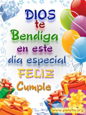 feliz cumpleaños amiga de mi corazon-dios-te-bendiga-este-dia ...