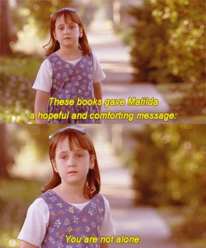 thereal1990s:Matilda (1996)All I wanted to be as a kid…except for ...